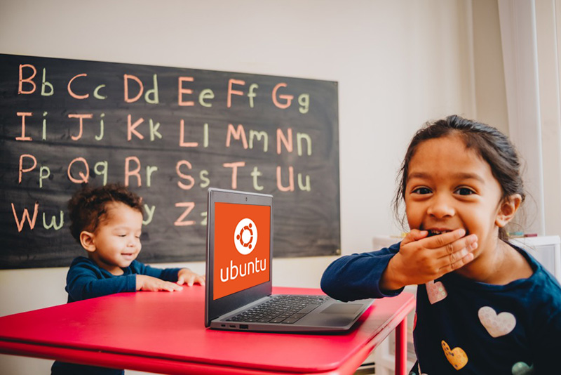 sistem operasi Ubuntu pada komputer